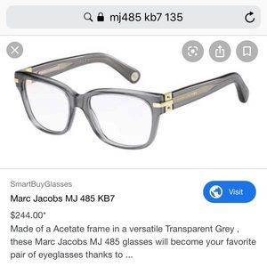 Marc Jacobs Eye Frames